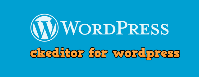 редактор CKEditor для WordPress
