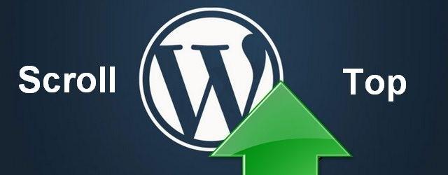 плагины кнопки наверх wordpress
