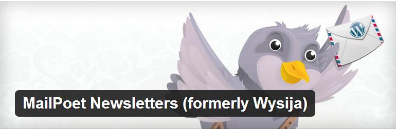 Плагин рассылки MailPoet Newsletters