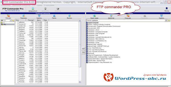 FTP commander pro