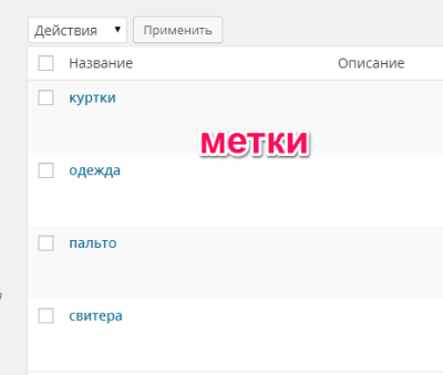 метки-wordpress