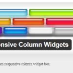 Вывод виджетов по горизонтали, плагин Responsive Column Widgets