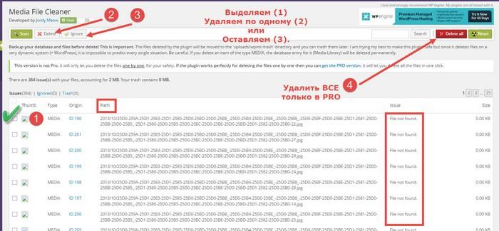 Media-File-Cleaner-плагин-www.wordpress-abc.ru-3