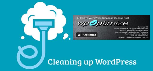 Чистка сайта Wordpress плагином WP-optimize