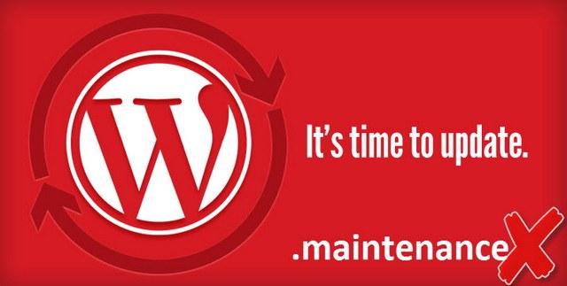 Простая ошибка обновления WordPress