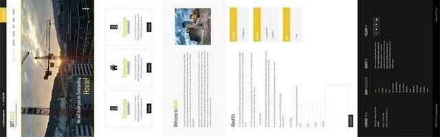 шаблон для строительной компании