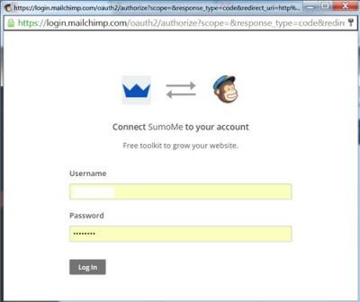 listbuilder-mailchamp-login