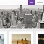 Светлая тема WordPress Radiate, простая тема с трехмерным изображением заголовка
