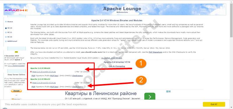 downloads Apache
