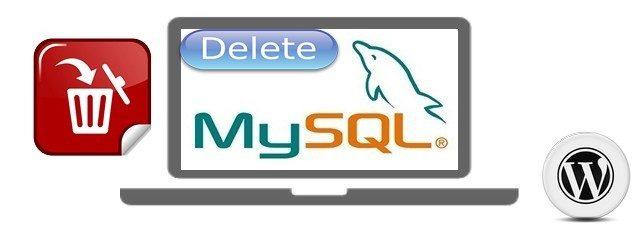 полностью удалить MySQL