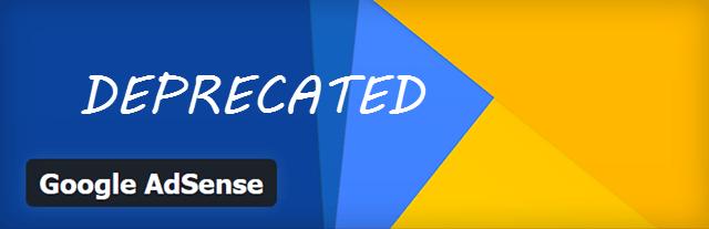 AdSense удаляет свой плагин