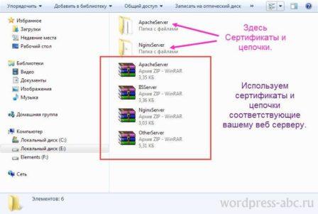 Сертификаты SSL