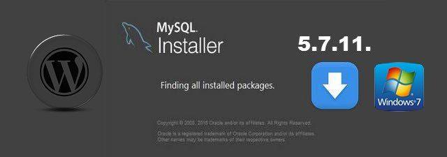 установка сервера MySQL 5.7.11 на Windows 7