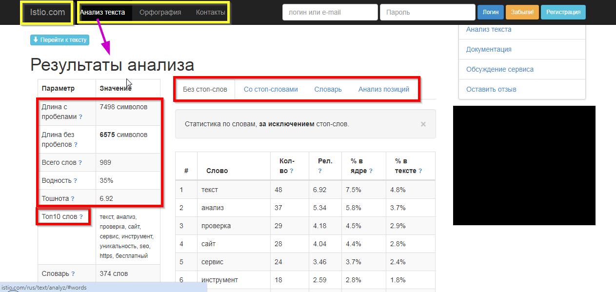 seo проверка сайтов
