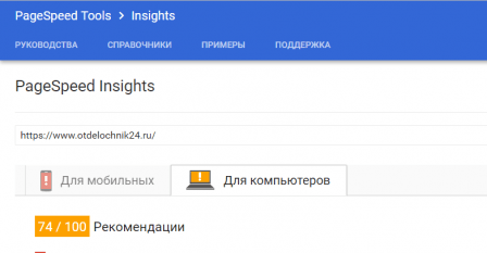 Google (PageSpeed Insights)