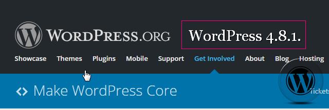 WordPress 4.8.1 доступен