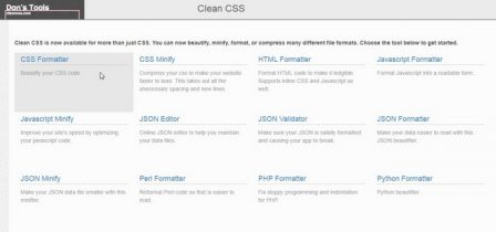 cleancss.com