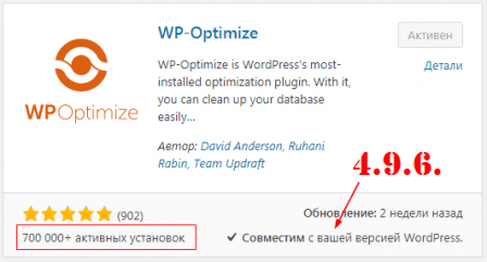 wp-optimize 4_9_6