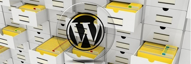 вывести описание рубрики WordPress