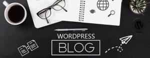 блог записей WordPress