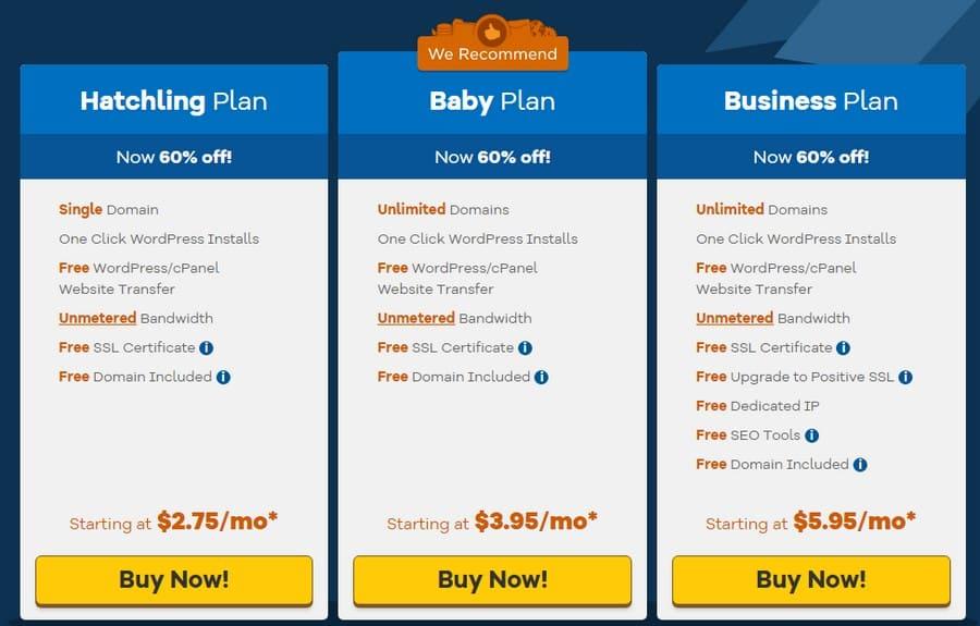 HostGator: лучших провайдера вебхостингадля WordPress