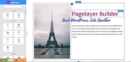 Page Builder: PageLayer