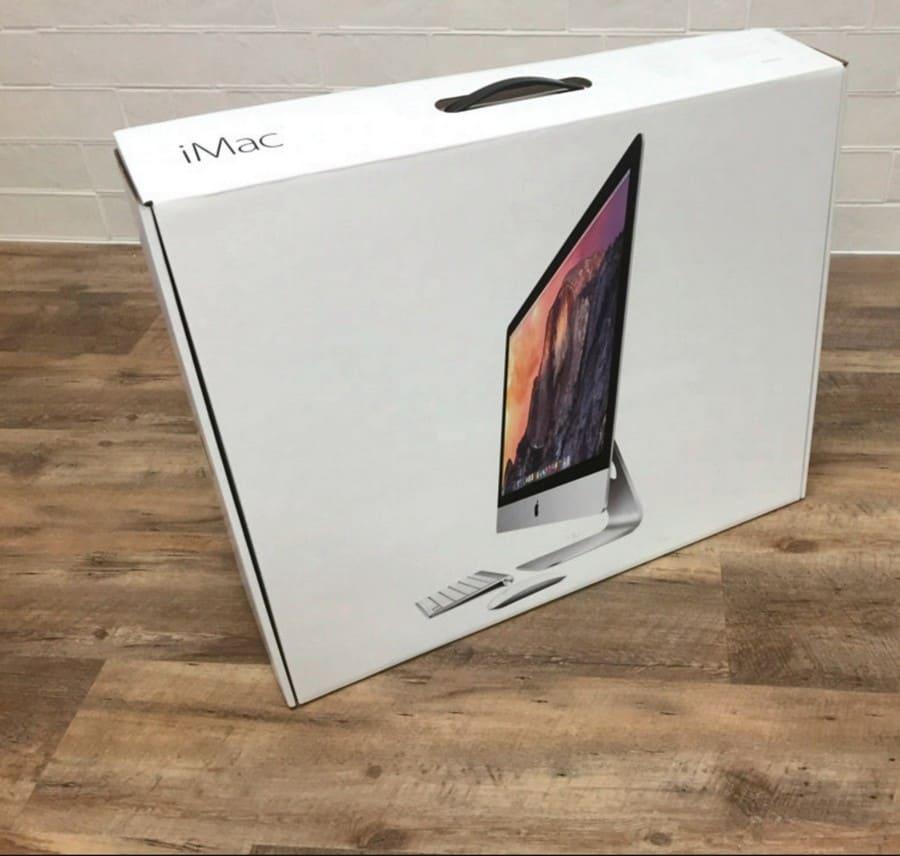 продать свой iMac в коробке